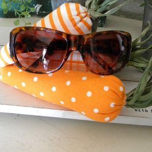 Foster Grant Tortoise  Sunglasses